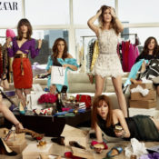 W Magazine Summer 2011 and Bazaar 2011