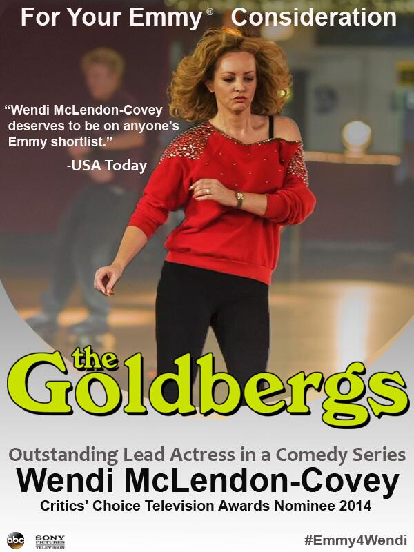 Wendi McLendon-Covey Fansite   Goldnerds and Emmy4Wendi Mention