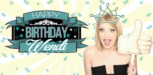 Wendi McLendon-Covey Fansite | HAPPY BIRTHDAY WENDI!