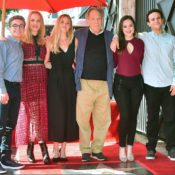 George Segal Hollywood Walk Of Fame Ceremony